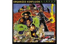 "Not only one of my favourite lyrical album in history, the cover to Organized Konfusions ""Stress"" (1994) is an absolute classic.  #hip-hop album covers"