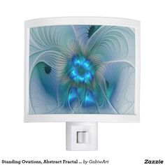 Standing Ovations, Abstract Fractal Art Night Light