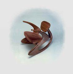 Rocking Chair Sculpture - Giles Gilson