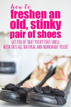 Get rid of that stinky smell with this all natural and homemade trick! #MCDL #HowTo #BoldAbode