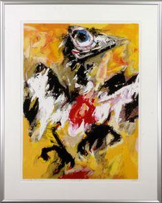 Charlotte Molenkamp - vogel in geel (bird in yellow''