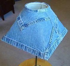 Sugestões para reciclar uma calça jeans e decorar a casa | Vila do Artesão