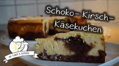 Schoko-Kirsch-Käsekuchen - Thermomix® - Rezept von Vanys Küche French Toast, Food And Drink, Breakfast, Desserts, Youtube, Piece Of Cakes, Schokolade, Backen, Cherries