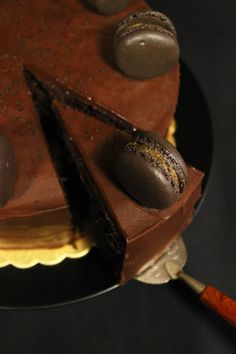 Schokoladen-Lakritz Torte Chocolate-Licorice Cake Chocolat-Reglisse Tarte
