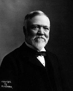 Andrew Carnegie, supporter of libraries