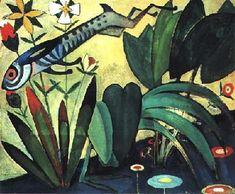 """Amadeo de Souza-Cardoso: """"Saut du Lapin"""". Ano: 1911. Local: The Art Institut of Chicago (Chicago)."""