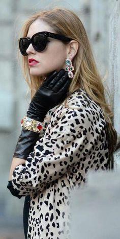 Beauty in Leopard- Via ~LadyLuxury~