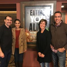 We had the honor to be the first in LA to see Eating You Alive Premiere along with @healthiestvegan @mrs_vegan @basicveganbitch If you have plans cancel them. The premiere will be in LA until 12/8 be sure to watch our previous posts for video sneak peeks and info on tickets. We also had the privilege to meet the producers Merrilee Jacobs and Paul Kennemer and our dear new Instagram friends @indianrockvegans who have a story in the movie follow them if you don't. They have a HUGE HEART AND…