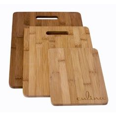 bd8735928d35 Culina bamboo cutting boards are a great kitchen solution for the health  and environmentally conscious.
