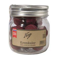Kremkuler: Lakriskremkuler med solbær på Norgesglass - Hyttefeber.no Mason Jars, Protein, Glass, Products, Drinkware, Corning Glass, Mason Jar, Yuri, Gadget