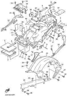 GTS 1000 1994 | Originální náhradní díly Yamaha | PARTS DEPOT