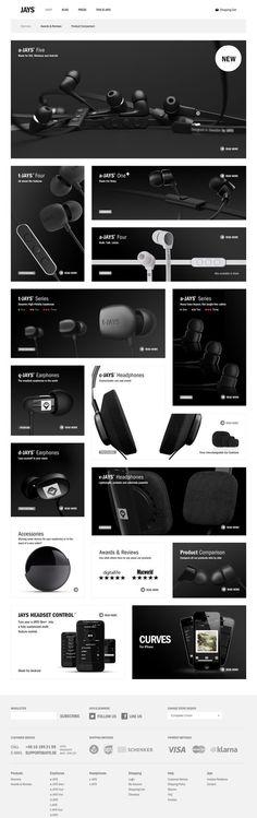 Web design inspiration | #764 Footer intéressant