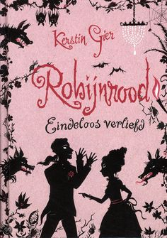 Dutch version: Robijnrood - Eindeloos verliefd. (Edelsteentrilogie van Kerstin Gier) I like how awesome the covers of these books are. Very fairy tale like :) Of course, I also wanna read Saffierblauw and Smaragdgroen.