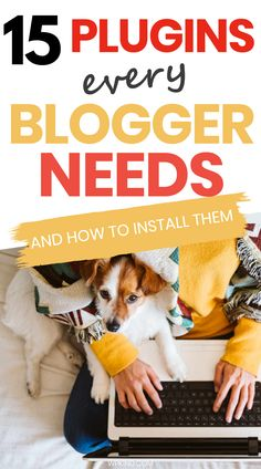 A complete list of all the WordPress plugins that you need to set you up for blogging success. Deciding which plugins to install when you first start your blog can be tricky. Get your blog set up properly, with tips for the best social sharing plugin, the best backup plugin, the best tools to help you write your blog content and the best plugin to speed up your site, and much more! #bloggingtips #bloggingforbeginners #wordpressplugins #wordpresstips #wordpresstutorials #wordpressbeginner Graphic Design Tools, Blog Design, Wordpress Plugins, Wordpress Free, Wordpress Support, Learn Wordpress, Wordpress Admin, News Blog, Blog Tips