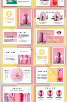 쾌활한 재미 안녕하세요 2019ppt 템플릿 Keynote Design, Design Ppt, Powerpoint Design Templates, Brochure Design, Layout Design, Branding Design, Keynote Presentation, Design Presentation, Presentation Templates
