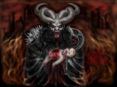 The Story of Saturn, Satan, and Santa Claus Fantasy Life, Dark Fantasy Art, Dark Art, Visualization Meditation, World Mythology, Heaven And Hell, Fantasy Images, Angels And Demons, Psychedelic Art