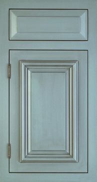 NEEDHAM 275D, Juniper Paint with Brown Glaze, Greenfield Cabinetry