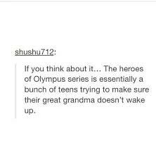 I'd never thought about it that way...