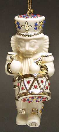 drummer Lenox Christmas Ornament - Replacements Ltd.