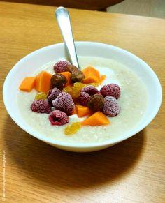 manhãs perfeitas: Pequeno almoço colorido em dia cinzento / BLOG #pequenoalmoço #breakfast #healthybreakfast #aveia #bomdia #goodmorning #perfectmornings