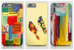 Colorful iPhone and