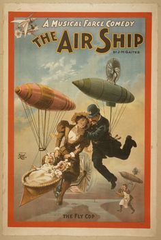 A Musical Farce Comedy, The Air Ship By J.M. Gaites. No. 1