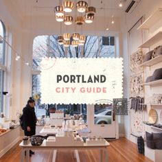 Portland, OR City Guide – Design*Sponge Portland Bars, Portland Shopping, Portland City, Oregon City, Portland Maine, Portland Oregon Attractions, Travel Portland, Portland Food, Oregon Travel