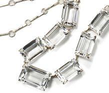 Mid 20th C. Rock Crystal Necklace