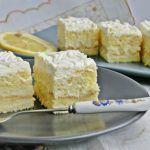Prajitura delicioasa cu crema de lamaie - Specialitatea Casei