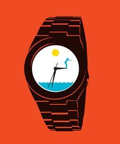 Ben Wiseman. Waterproof Watches. GQ Germany. 2012