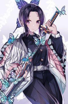 Read Kimetsu No Yaiba / Demon slayer full Manga chapters in English online! Fan Anime, I Love Anime, Demon Slayer, Slayer Anime, Anime Angel, Anime Demon, Anime Art Girl, Manga Girl, Kawaii Anime