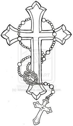 Resultado de imagem para tattoo cruz