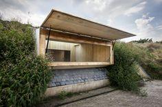 Image 1 of 18 from gallery of Kiosk at Ravelijn  / RO&AD Architecten. Photograph by Bastiaan Musscher