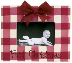 First Christmas Picture Frame - Sale Price $28.80