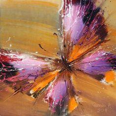 Butterfly, Butterfly Art, Butterfly Painting. Artist Pavel Guzenko | Бабочка, Картиа с бабочкой, Художник Павел Гузенко