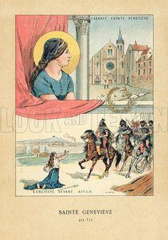 Resultado de imagen para saint genevieve