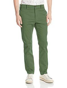 Levi's Men's 511 Slim Fit Welt Chino Pant, Meadow Moss/Cr..