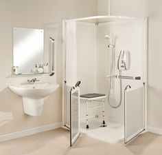 Merveilleux Functional Bathroom Remodeling Design For The Elderly And Mobility Impaired