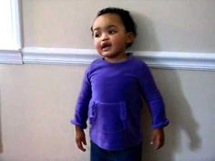 """She's Only 17 Months Old, But When She Sings """"Amazing Grace"""" To Daddy? WHOA!                 W"""