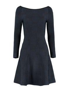 Sera Dress (Black/Navy)