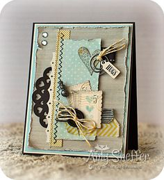Pickled Paper Designs--love the shabby chic.