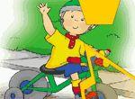 Puzzles de Caillou en los juegos infantiles gratis para niños y niñas de VivaJuegos.com