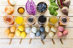 Ostereier färben mit Naturfarben Anleitung und originelle Verzierungstechniken