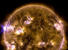 Eruption solaire - Nasa