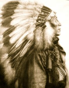 Chief Iron Hail     Lakota Sioux
