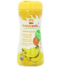 Happy Baby Banana Puffs  (6/2.1oz)