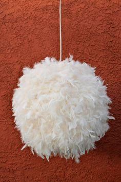 Another 12 strange lamps unusual lamps weird lamps the big feather lamp shade pendant lantern 12 on etsy 13000 aloadofball Gallery