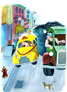 The taxi that hurried - Tibor Gergely