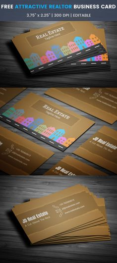 30 free modern business card templates business cards card colorful real estate business card full preview accmission Image collections