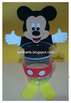 Cd Crafts, Fish Crafts, Diy Crafts Hacks, Mickey E Minnie Mouse, Mickey Mouse Crafts, Art For Kids, Crafts For Kids, Craft From Waste Material, Easy Easter Crafts